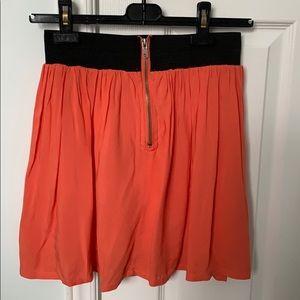 Pink flow skirt